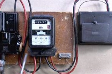 Old Style Electric Meter
