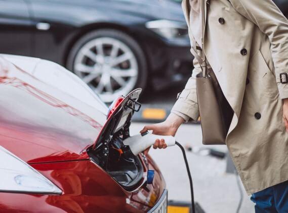 Red Car - Homeevcharging